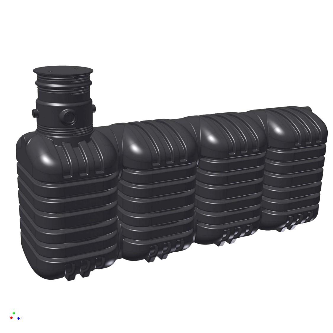 regenwasser tank zisterne erdtank speicher st basic ebay. Black Bedroom Furniture Sets. Home Design Ideas